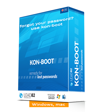 can't login? forgot your Windows or Mac password? use kon-boot remedy for forgotten passwords (windows and mac)
